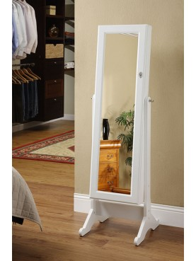 Mirror-Jewelry Cabinet LV152-B
